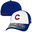 Chicago Cubs White Front Diamond Era 3930 Fitted Cap
