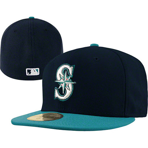 big sale 323b2 e228b Seattle Mariners Authentic Alternate Performance 59FIFTY On-Field Cap