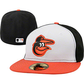 Baltimore Orioles Authentic Home 59FIFTY On-Field Cap