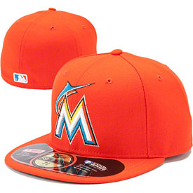 Miami Marlins Authentic Road 59FIFTY On-Field Cap