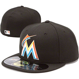 Miami Marlins Authentic Home 59FIFTY On-Field Cap