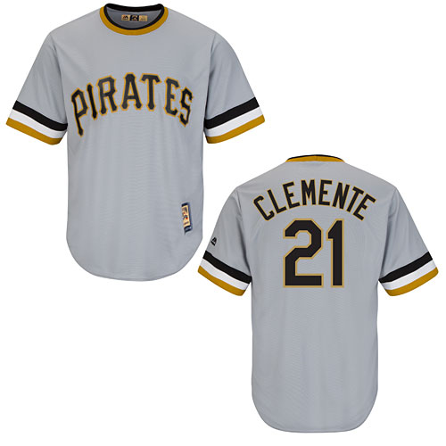 880fb3035 Pittsburgh Pirates Roberto Clemente Cooperstown Cool Base Replica Jersey