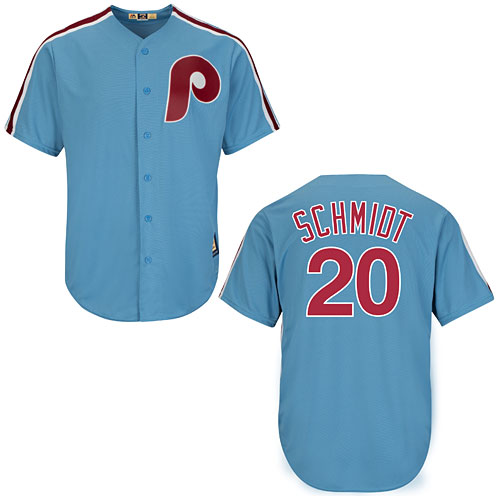 Philadelphia Phillies Mike Schmidt Cooperstown Cool Base Replica Jersey 2a8ef7bb36e