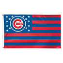 Chicago Cubs Deluxe American 3 x 5 Flag
