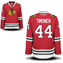 Chicago Blackhawks Kimmo Timonen Ladies Red Premier Jersey w/ Authentic Lettering