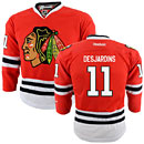 Chicago Blackhawks Andrew Desjardins Youth Red Premier Jersey w/ Authentic Lettering