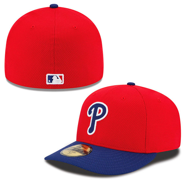 Philadelphia Phillies Authentic Collection Low Crown Diamond Era 59FIFTY Game Cap