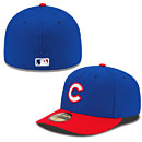Chicago Cubs Authentic Collection Low Crown Diamond Era 59FIFTY Game Cap