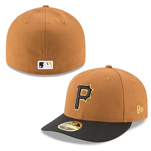 Pittsburgh Pirates Authentic Collection Low Crown On-Field 59FIFTY Alternate  Home Fitted Cap b351c7e2274a