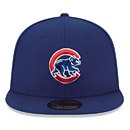 Chicago Cubs Logo Lush 5950 Fitted Cap