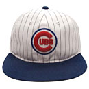 Chicago Cubs Infield Pinstripe Adjustable Cap