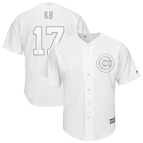 release date: 21132 0c2e8 Chicago Cubs Kris Bryant 2019 Players Weekend Replica Jersey