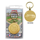 Chicago Cubs Bronze Team Keychain