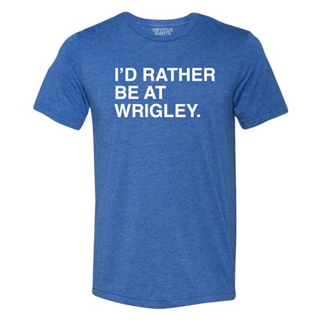 e93f80a6 Chicago Cubs T-Shirts | Wrigleyville Sports