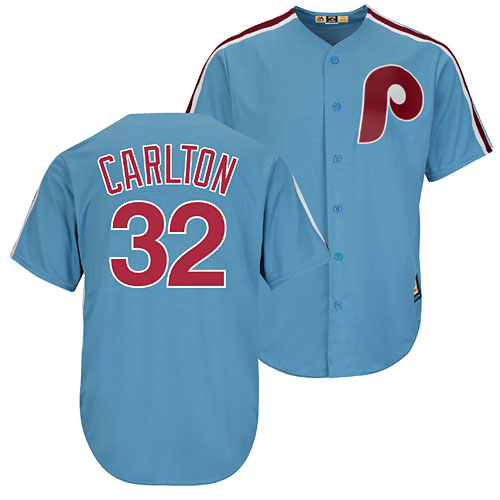 Philadelphia Phillies Steve Carlton Cooperstown Cool Base Replica Jersey 70d921ce21f