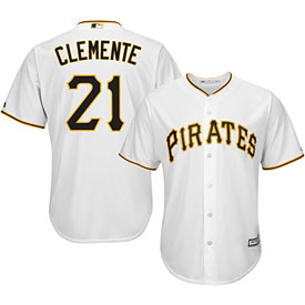 Pittsburgh Pirates Roberto Clemente Youth Home Cool Base Replica Jersey