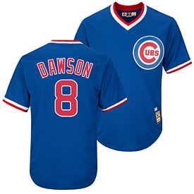 Chicago Cubs Andre Dawson Cooperstown Cool Base Replica Jersey 08e2c6642