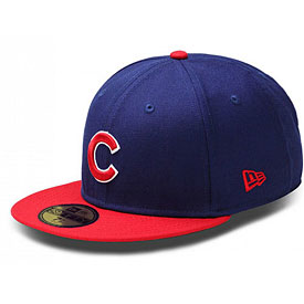 Chicago Cubs Road 5950 Fitted Cap