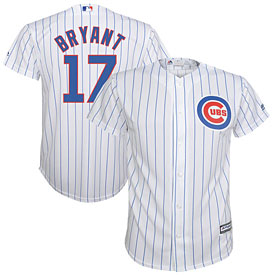 Chicago Cubs Kris Bryant Preschool Home Cool Base Replica Jersey