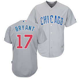 Chicago Cubs Kris Bryant Road Cool Base Replica Jersey