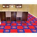 Chicago Cubs Team Carpet Tiles