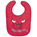Chicago Bulls Red Baby Bib