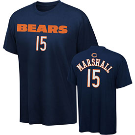 Chicago Bears Brandon Marshall Youth Name and Number T-Shirt