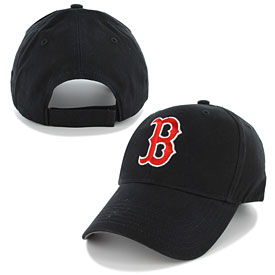Boston Red Sox Youth Structured Adjustable Cap