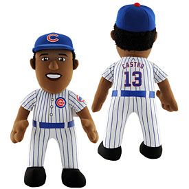Chicago Cubs Starlin Castro 14in Plush Player Doll