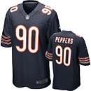 Chicago Bears Julius Peppers Game Team Color Jersey