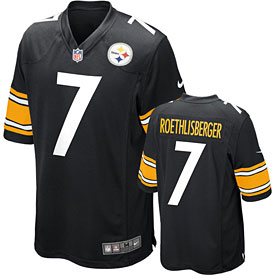 Pittsburgh Steelers Ben Roethlisberger Game Team Color Jersey