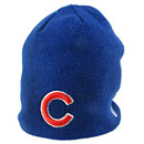Chicago Cubs Infant Basic Logo Knit Cap