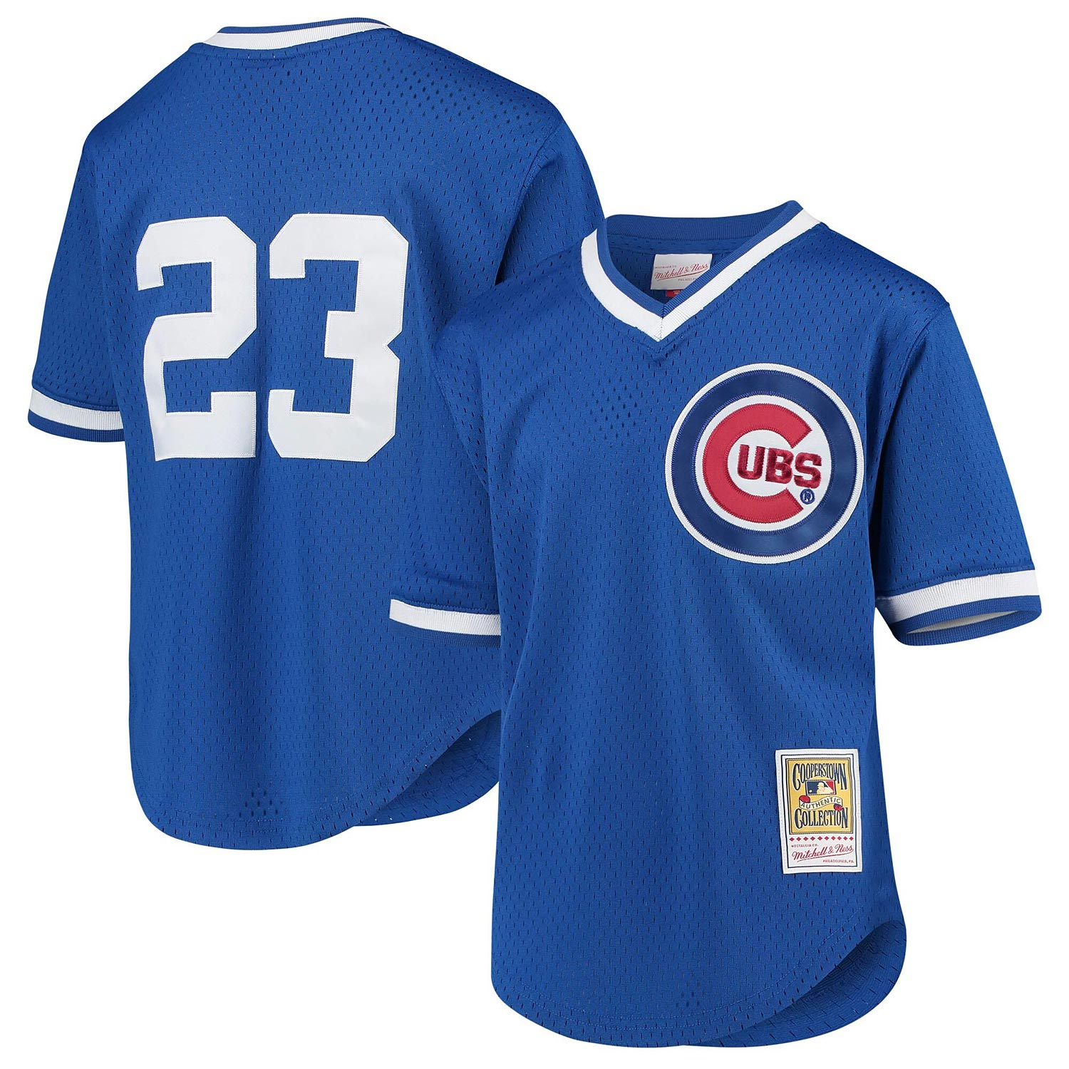 Chicago Cubs Youth Ryne Sandberg Authentic BP Jersey