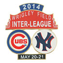 Chicago Cubs vs. New York Yankees Interleague Collectible Souvenir Pin