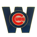 Chicago Cubs W Flag Collectible Lapel Pin