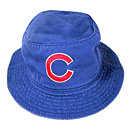Chicago Cubs Youth Royal Bucket Cap