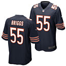 Chicago Bears Lance Briggs Game Team Color Jersey