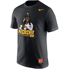 Pittsburgh Pirates Andrew McCutchen Cooperstown Player 16Bit T-Shirt