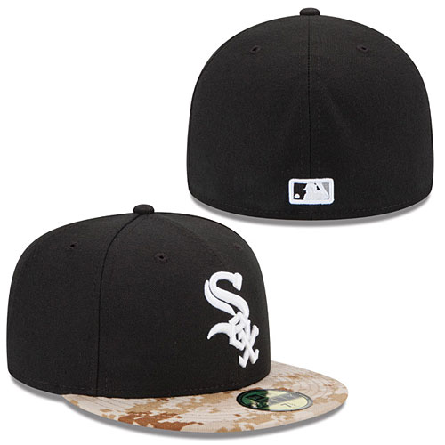 3fef6a0b87258 Chicago White Sox 2015 Memorial Day Stars and Stripes 59FIFTY Cap