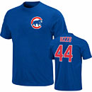 Chicago Cubs Anthony Rizzo Youth Name and Number T-Shirt