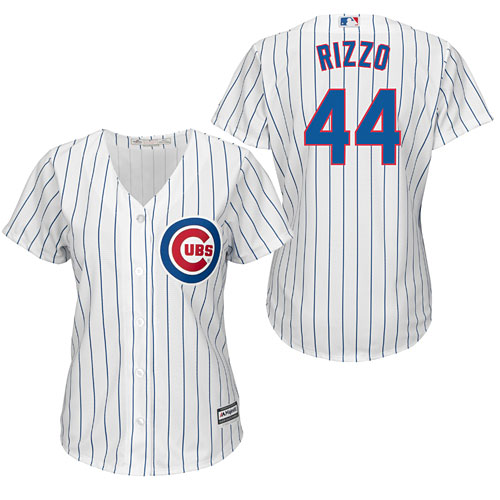 ca961d465 Chicago Cubs Anthony Rizzo Ladies Home Cool Base Replica Jersey