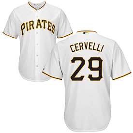 Pittsburgh Pirates Francisco Cervelli Youth Home Cool Base Replica Jersey
