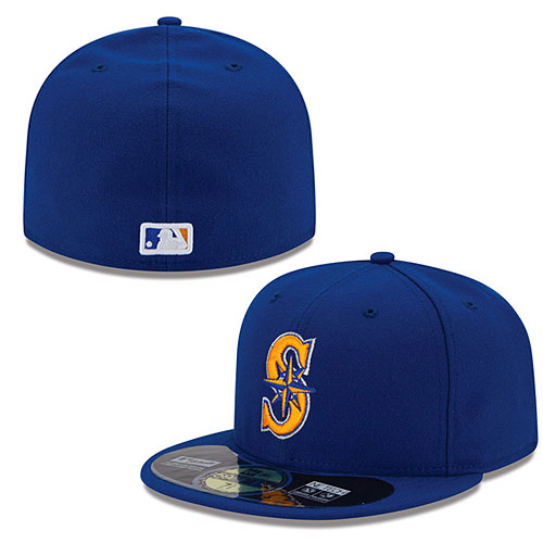 differently 56130 88052 Seattle Mariners Authentic Collection On-Field 59FIFTY Alternate 2 Cap