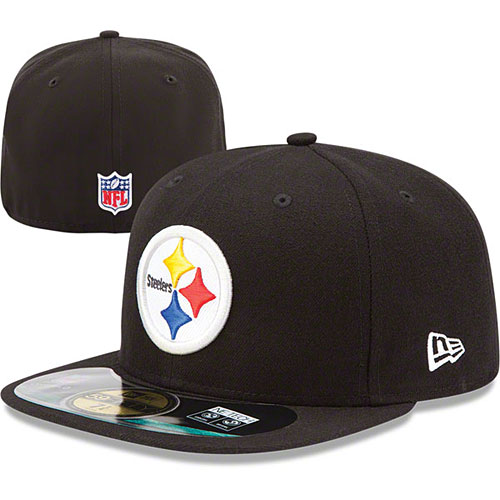 Pittsburgh Steelers Youth 5950 Fitted Cap b94e3f6d717