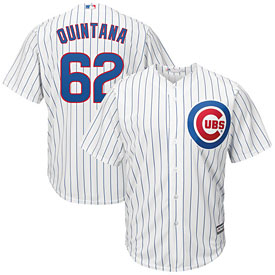 Chicago Cubs Jose Quintana Youth Home Cool Base Replica Jersey