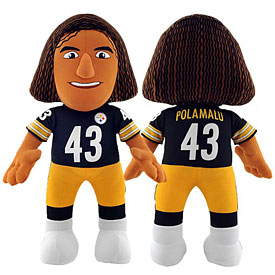 Pittsburgh Steelers Troy Polamalu 14in. Player Doll