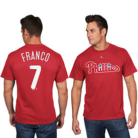 Philadelphia Phillies Maikel Franco Name and Number T-Shirt