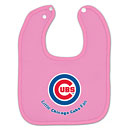 Chicago Cubs Pink Little Cubs Fan Bib