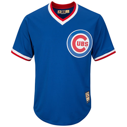 promo code 06a9d efc2b Chicago Cubs Alternate Cooperstown Cool Base Replica Jersey