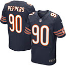 Chicago Bears Julius Peppers Elite Team Color Jersey